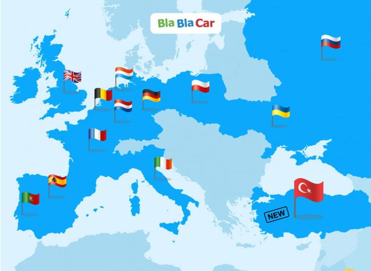 blablacar s numbers in spain its third biggest market worldwide