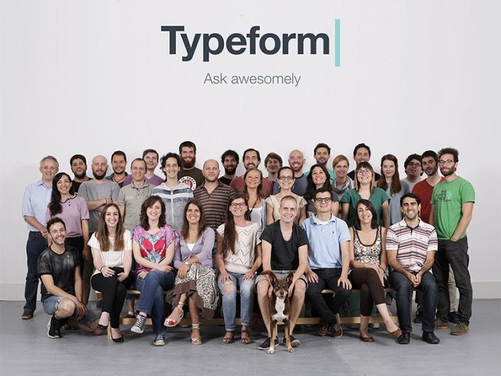 typeform funding