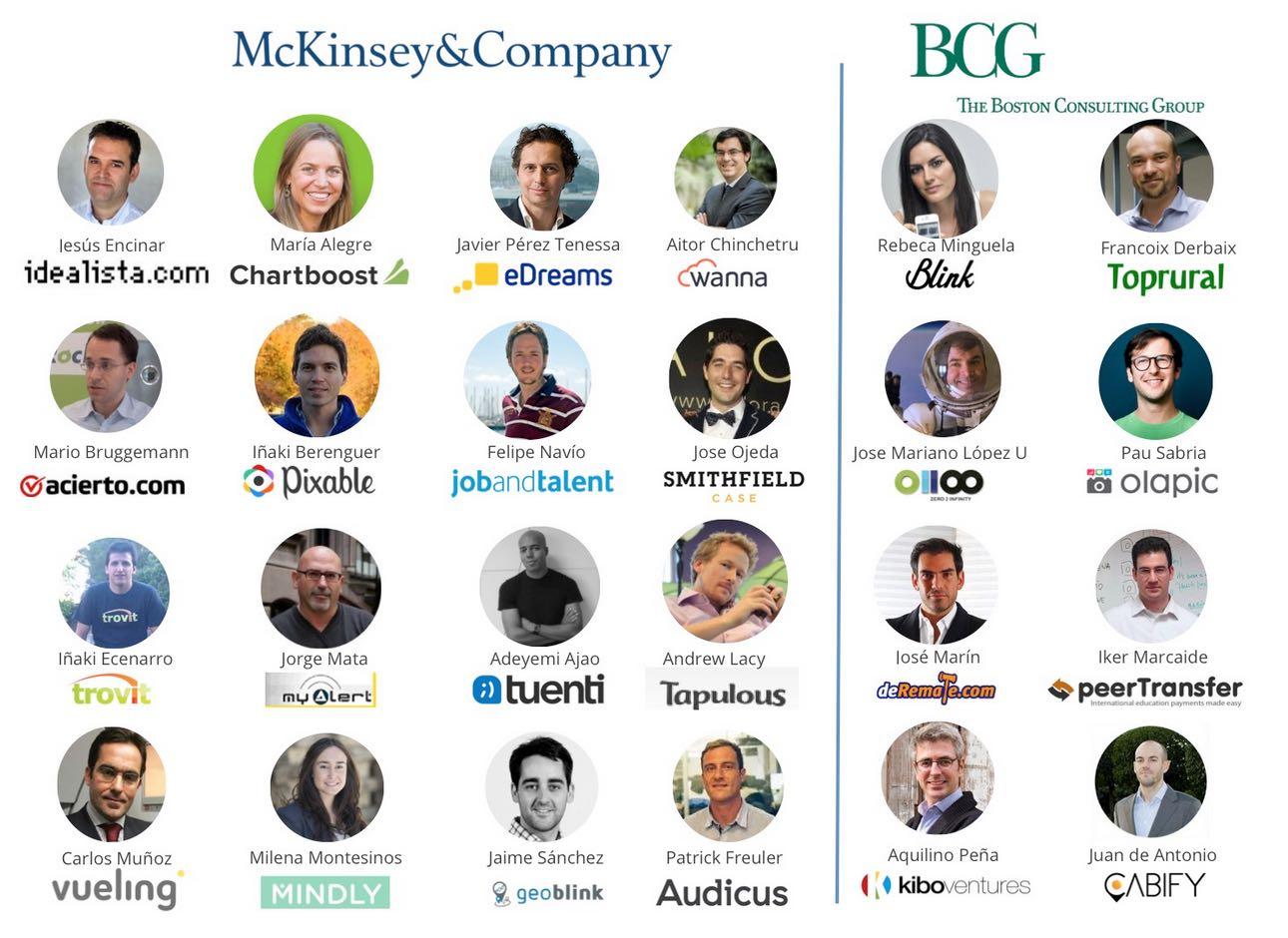mckinsey bcg spanish startups