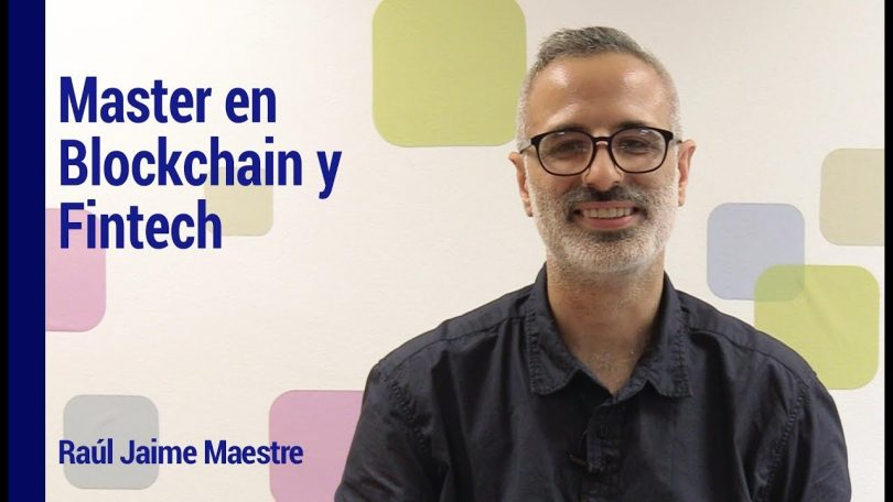 blockchain fintech master's program spain